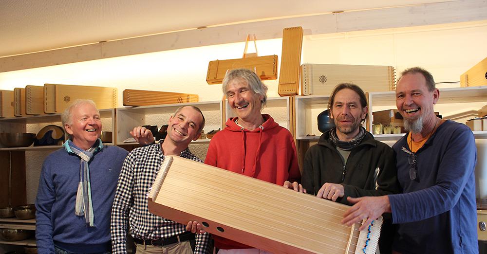 MusikMonochord-Workshop Jan Dosch mit Team Allton